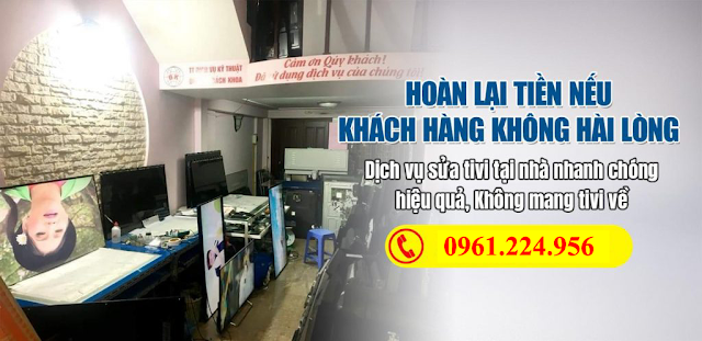 Dịch vụ sửa tivi tại Cảnh Hưng Tiên Du Bắc Ninh