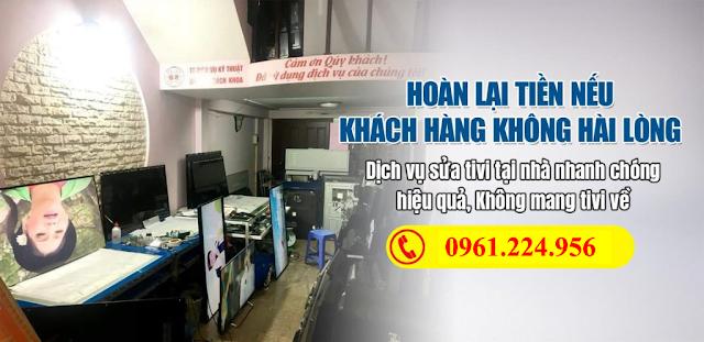 Dịch vụ sửa tivi tại Thành Phố Bắc Ninh Bắc Ninh