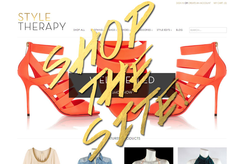 SHOP DIRECTLY FROM STYLE THERAPY