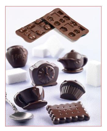 Cetakan Coklat SCG17-Teatime