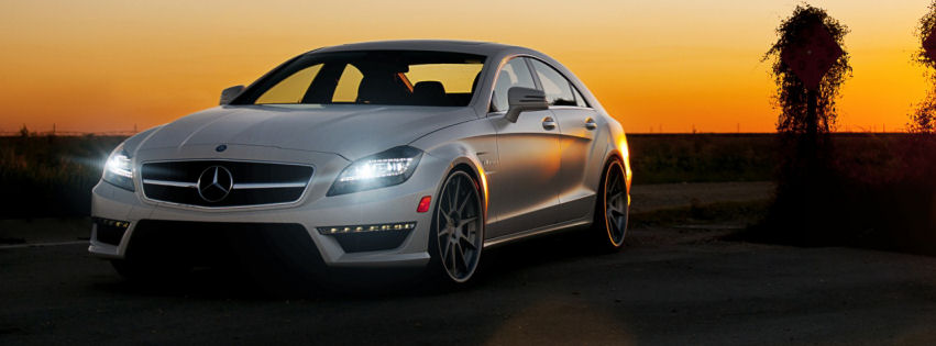 Mercedes benz cls63 facebook cover