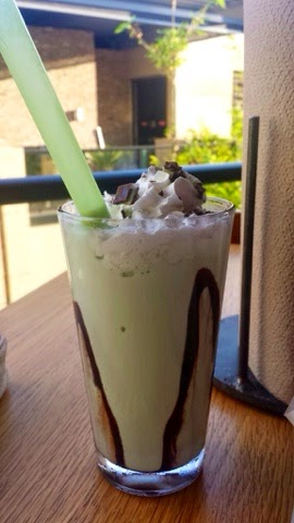 Grub Burger Bar, Mint Chocolate Chip Spiked Milkshake, City Centre, City Center Houston, Spiked milkshakes