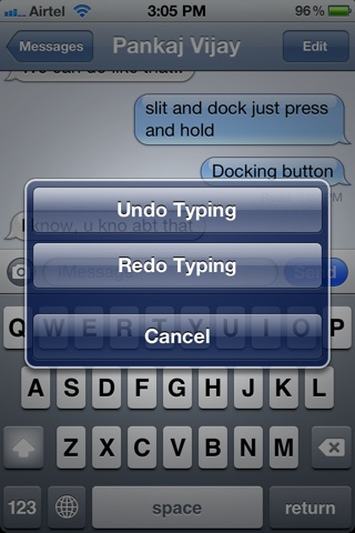 How to UNDO-REDO-COPY-PASTE in iPhone iPad