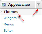 themes menu wordpress