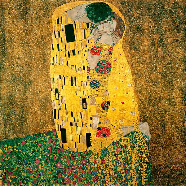 El beso de Gustav Klimt