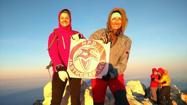 Tihana i Kristina na vrhu vulkana El Teide u Španjolskoj