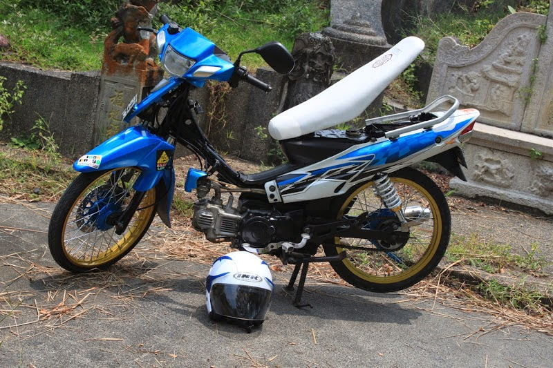 Vega R Modifikasi Trail