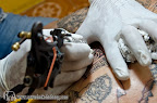 Machine tattooing