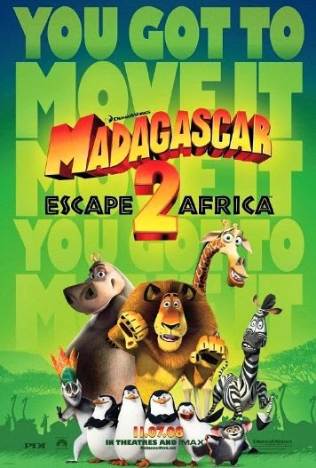 Poster Of Madagascar: Escape 2 Africa (2008) Full Movie Hindi Dubbed Free Download Watch Online At Alldownloads4u.Com