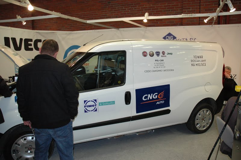 Fiat Doblo Natural Power (CNG) - GasShow 2012