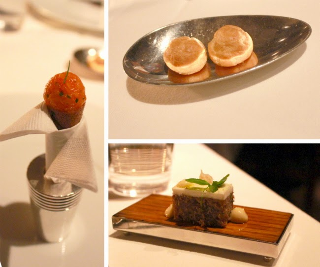 The French Laundry amuse bouche
