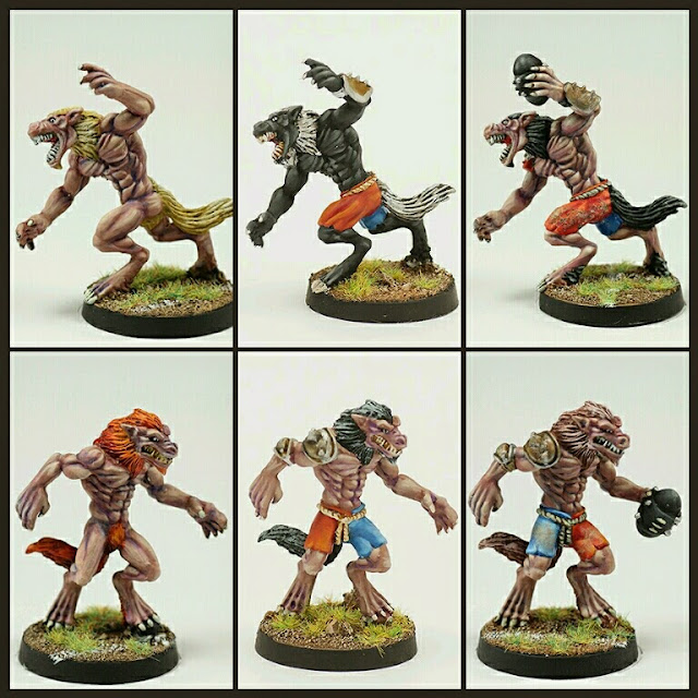 hombres lobo Blood Bowl Neomics