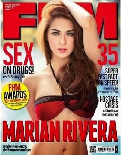 Marian Rivera FHM Thailand Cover January 2014  Marian Rivera  FHM Thailand Cover  January 2014