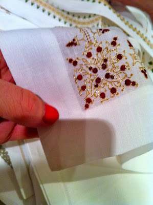 luxury organic linens by Gayle Warwick
