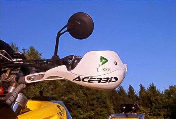 Acerbis Handprotektoren Rallye PRO Spoiler<br>SCHWARZ