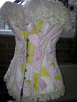 Linda's fabulous tea with Josie corset