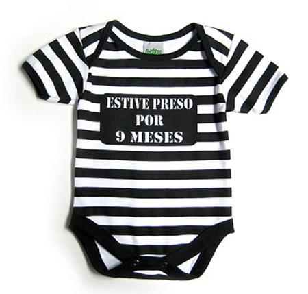 Body para bebê com frase engraçada