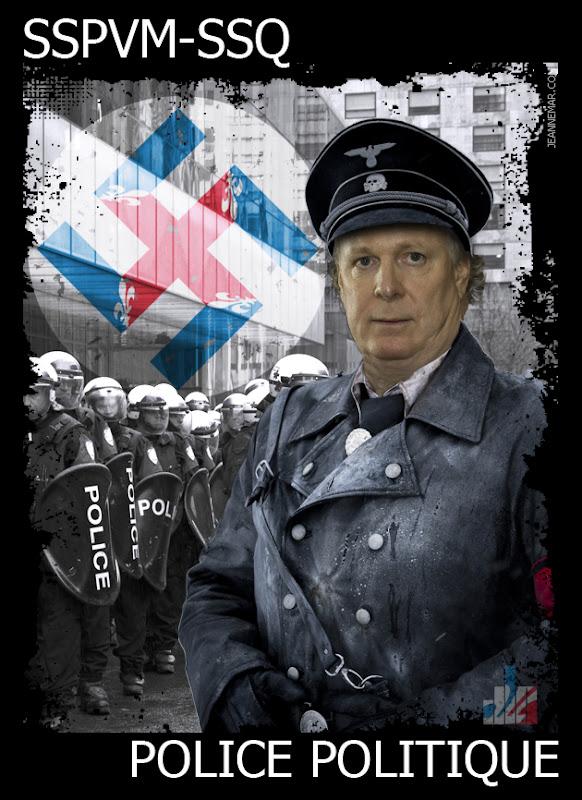 SS John James (Jean) Charest - SSPVM - SSQ - Police Politique - Jean Némar