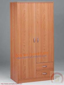 Tủ quần áo 2 cánh TASM015