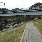 Track passing under rail bridge (295149)