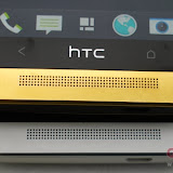 galeri gambar HTC One 24ct gold-plated @ Lampung Bridge