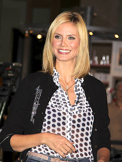 Heidi Klum Celebrity Hairstyles - Girls Hairstyle ideas