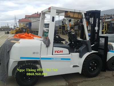 Xe nâng diesel 5 tấn TCM