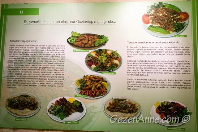 Gaziantep mutfağında et yemekleri tanıtımı, Emine Göğüş Mutfak Müzesi