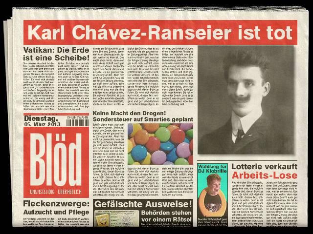 Karl Ranseier Ist Tot Youtube