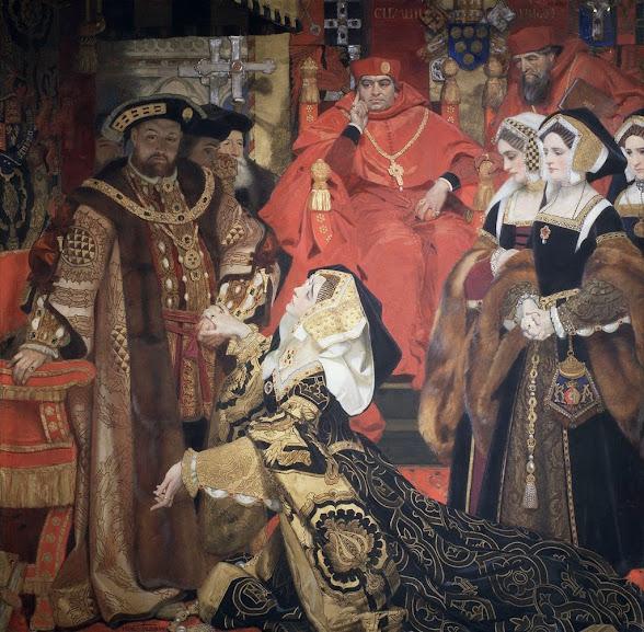 Após diversas vezes pedir anulação de seu casamento com Catarina de Aragão, Henrique VIII é excomungado em 11 de julho de 1533 pelo papa Clemente VII.