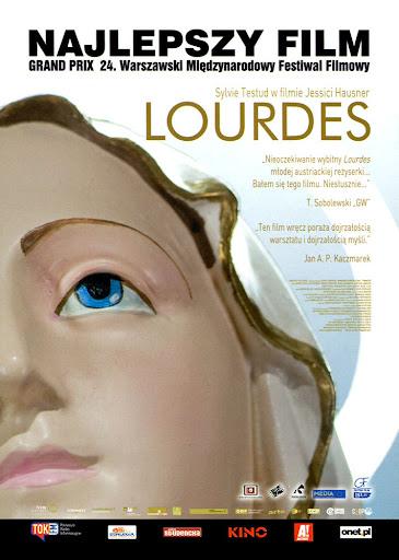 Przód ulotki filmu 'Lourdes'