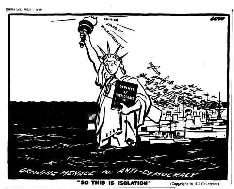 isolationism vs interventionism essay