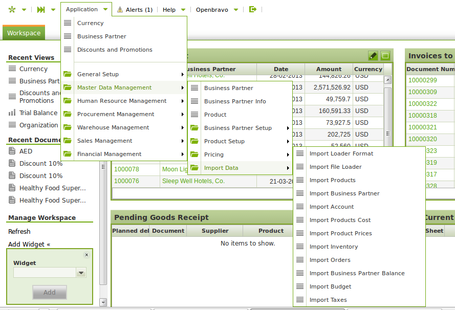 gambar menu di openbravo | wirabumisoftware.com