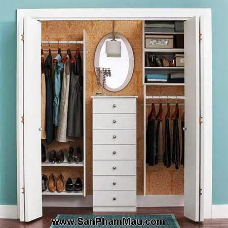 Cách trang trí tủ quần áo để được chồng khen-11