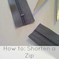 shorten a zip