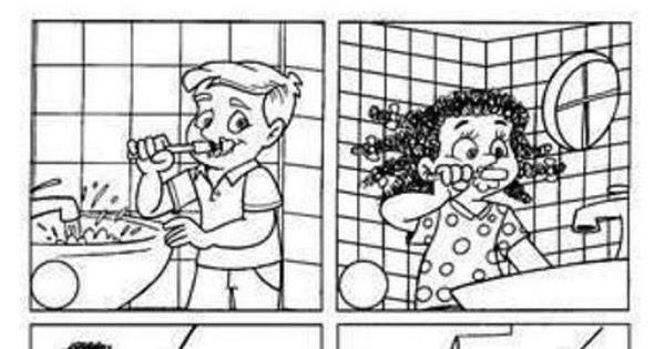 Dibujos Para Colorear Del Agua Para Ninos: Colorear Ahorro Del Agua (desperdicio Del Agua)
