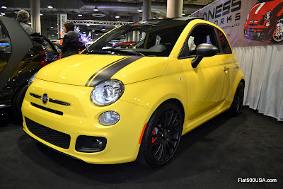 Fiat 500 modified by 500 Madness