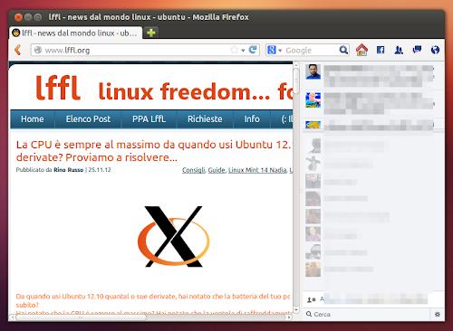 Facebook Messenger per Firefox