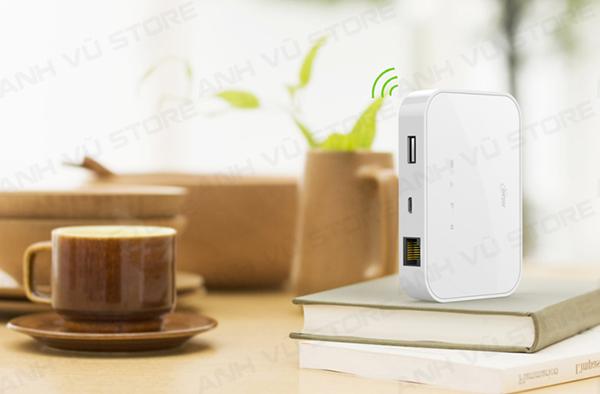 HAME A19 - Bộ Phát WiFi 3G - WiFi Di Động - Pin Sạc Dự Phòng - Router Wifi 3G Hame A19 01