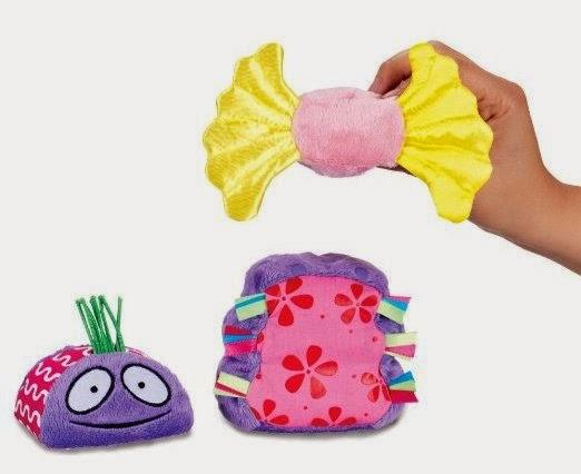 Bộ xếp chồng 3 con bọ giúp bé phát triển óc sáng tạo và tính logic
