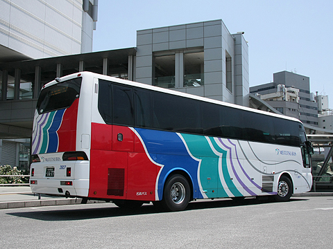 名鉄バス「不知火号」 2607 リア
