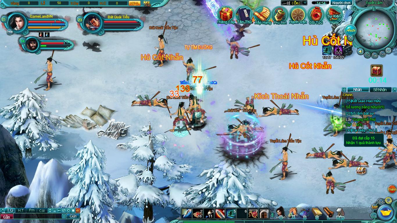 Hình ảnh thử nghiệm webgame Tiểu Lý Phi Đao - Ảnh 17