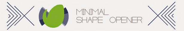 Minimal Shape Logo Opener