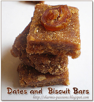Dates Biscuit Bars