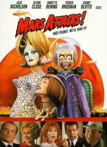 Mars Attacks!, otra de las películas de Tim Burton