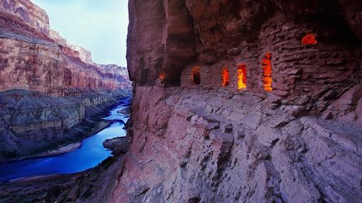 Ancient Anasazi Ruins at Dusk, Arizona.jpg