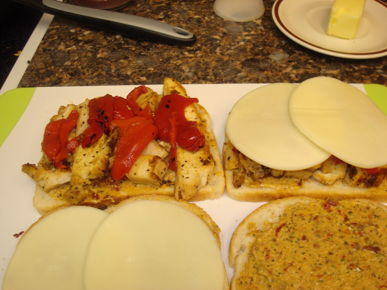 Make lemonade and more!: Grilled Chicken and Roasted Red ...