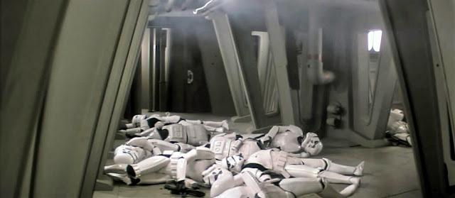 Imperiales de Star Wars muertos