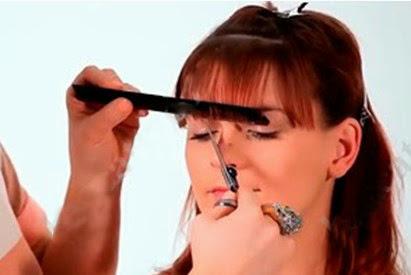 Day cat toc nu co ban huong dan cat toc mai 12 Dạy cắt tóc nữ cơ bản, Hướng dẫn cắt tóc mái