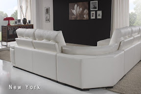 Sofa de piel modelo New York